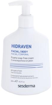 Sesderma Hidraven emulsión limpiadora para rostro y cuerpo