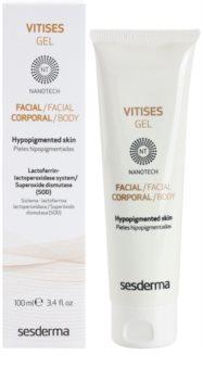 Sesderma Vitises gel urychlující pigmentaci pleti při léčbě vitiliga