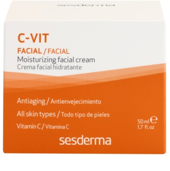 Sesderma C-Vit feuchtigkeitsspendende Gesichtscreme gegen die Alterung