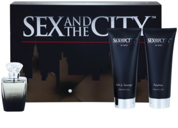 sex and the city sex and the city by night woda perfumowana 100 ml  zestaw