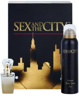 sex and the city sex and the city woda perfumowana 30 ml  zestaw