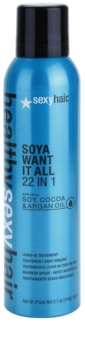 Sexy Hair Healthy Lichte Leave-In Conditioner met Soja, Cacao en Argan Olie