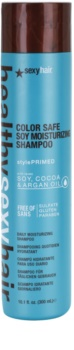 Sexy Hair Healthy színvédő hidratáló sampon szulfát és parabén nélkül