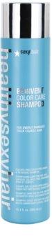 Sexy Hair Healthy šampon pro oživení barvy poškozených a hrubých vlasů bez obsahu sulfátů