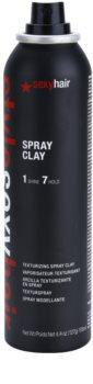 Sexy Hair Style argila para styling de cabelo em spray
