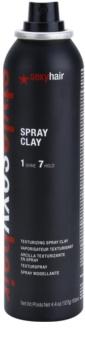 Sexy Hair Style hajformázó agyag spray -ben