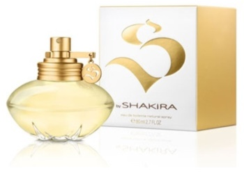 Shakira S Eau de Toilette für Damen 80 ml