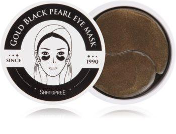 Shangpree Gold Black Pearl feuchtigkeitsspendende Gel-Maske für den Augenbereich mit Antifalten-Effekt