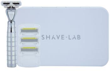 Shave-Lab Luxury Tres P.L.4 Shaver + Spare Blades 3 pcs
