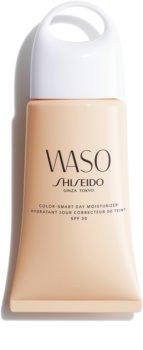 Shiseido Waso Color-Smart Day Moisturizer crema de día hidratante para unificar el tono de la piel SPF 30
