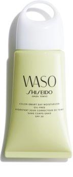 Shiseido Waso Color-Smart Day Moisturizer crème de jour hydratante et unificatrice sans huile