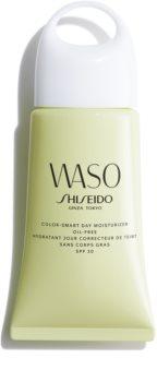 Shiseido Waso Color-Smart Day Moisturizer зволожуючий денний крем для вирівнювання тону шкіри не містить олії