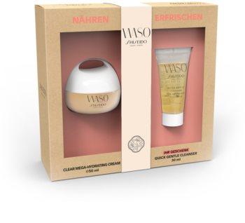 Shiseido Waso Clear Mega Hydrating Cream Kosmetik-Set  I.