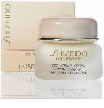 Shiseido Concentrate Eye Wrinkle Cream krema proti gubam za predel okoli oči