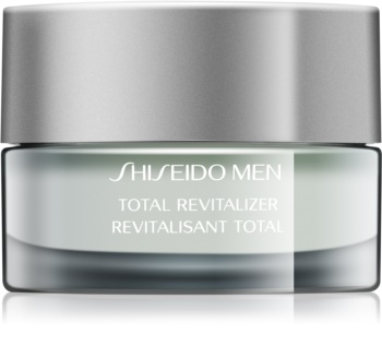 Shiseido Men Total Revitalizer Cream creme renovador revitalizante antirrugas