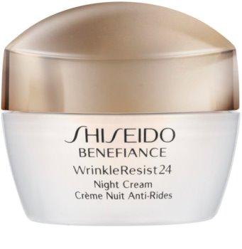 Shiseido Benefiance WrinkleResist24 Night Cream Feuchtigkeitsspendende Nachtcreme gegen Falten