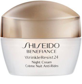 Shiseido Benefiance WrinkleResist24 Night Cream noční hydratační krém proti vráskám