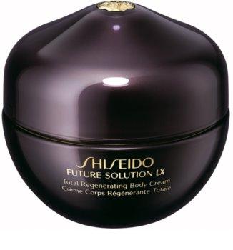 Shiseido Future Solution LX Total Regenerating Body Cream ujędrniający krem do ciała do skóry delikatnej i gładkiej