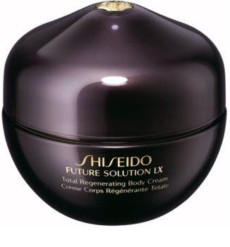 Shiseido Future Solution LX Total Regenerating Body Cream зміцнюючий крем для тіла для ніжної і гладенької шкіри
