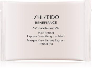 Shiseido Benefiance WrinkleResist24 maseczka pod oczy z retinolem