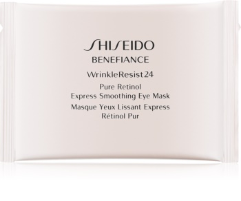 Shiseido Benefiance WrinkleResist24 Pure Retinol  Express Smoothing Eye Mask Anti-Aging Augenmaske mit reinem Retinol