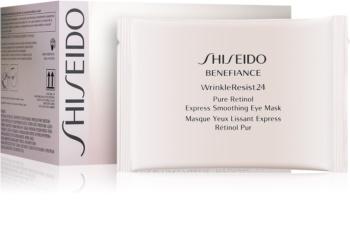 Shiseido Benefiance WrinkleResist24 Augenmaske mit Retinol