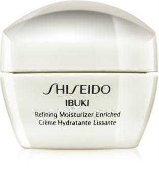 Shiseido Ibuki Refining Moisturizer Enriched beruhigende und hydratisierende Creme strafft die Haut und verfeinert Poren