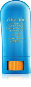 Shiseido Sun Foundation водоустойчив защитен фон дьо тен в стик SPF30