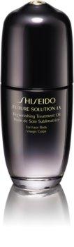 Shiseido Future Solution LX Replenishing Treatment Oil ošetrujúci olej na telo a tvár