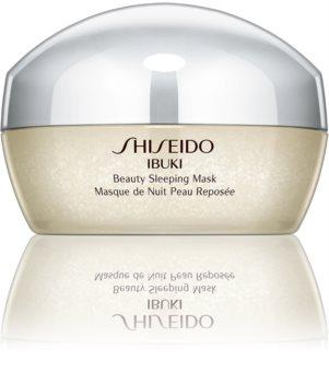 Shiseido Ibuki Beauty Sleeping Mask maseczka na noc upiększający skórę