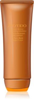 Shiseido Sun Self-Tanning Self Tan Emulsion For Body and Face