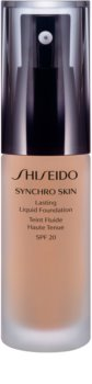 Shiseido Makeup Synchro Skin Lasting Liquid Foundation dlhotrvajúci make-up SPF 20