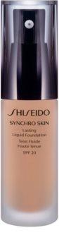 Shiseido Makeup Synchro Skin Lasting Liquid Foundation SPF20 стійкий тональний крем SPF 20