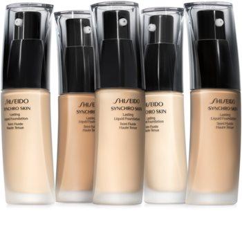 Shiseido Makeup Synchro Skin Lasting Liquid Foundation SPF20 dolgoobstojen tekoči puder SPF 20