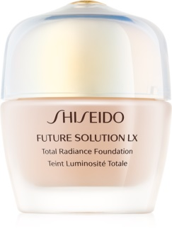 Shiseido Future Solution LX Total Radiance Foundation омолоджуючий тональний крем SPF 15