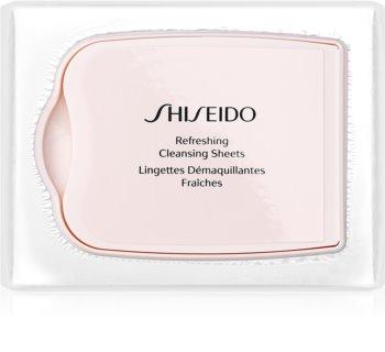 Shiseido Pureness odličovací ubrousky pro hloubkové čištění