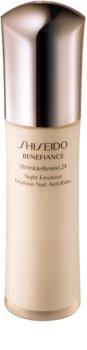 Shiseido Benefiance WrinkleResist24 Night Emulsion Seidig-weiche Anti-Aging Feuchtigkeitsemulsion für die Nacht