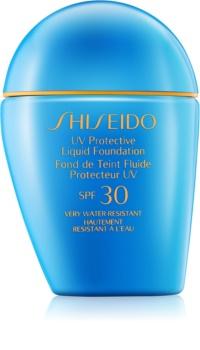 Shiseido Sun Foundation maquillaje líquido resistente al agua SPF30