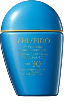 Shiseido Sun Care Protective Liquid Foundation fard lichid rezistent la apa SPF 30