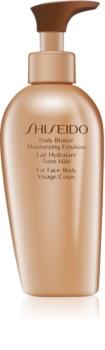 Shiseido Sun Self-Tanning leite bronzeador com efeito hidratante