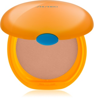 Shiseido Sun Care Tanning Compact Foundation maquillaje compacto SPF 6