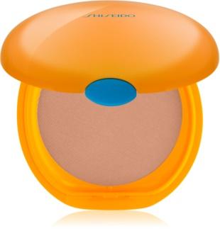 Shiseido Sun Foundation Seidige Kompakt-Foundation für einen sonnengebräunten Teint