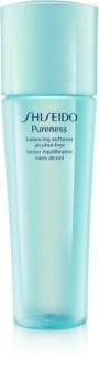 Shiseido Pureness tonizująca woda do twarzy bez alkoholu