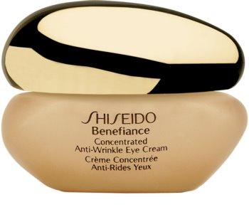 Shiseido Benefiance Concentrated Anti-Wrinkle Eye Cream krem pod oczy przeciw opuchnięciom i cieniom