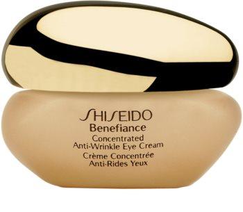 Shiseido Benefiance Concentrated Anti-Wrinkle Eye Cream Reichhaltige Augencreme mit höchster Verträglichkeit