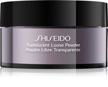 Shiseido Base Translucent transparentný sypký púder
