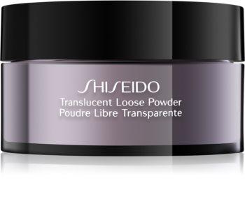 Shiseido Makeup Translucent Loose Powder transparentný sypký púder