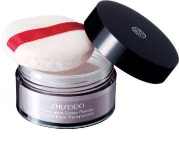 Shiseido Makeup Translucent Loose Powder polvos sueltos transparentes