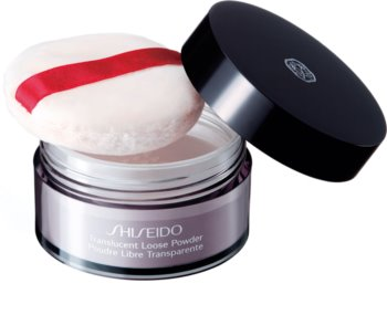 Shiseido Makeup Translucent Loose Powder transparentny puder sypki