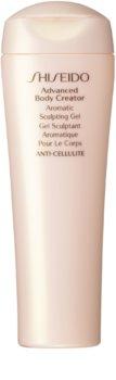 Shiseido Global Body Care Advanced Body Creator Aromatic Sculpting Gel kisimító zselé narancsbőrre